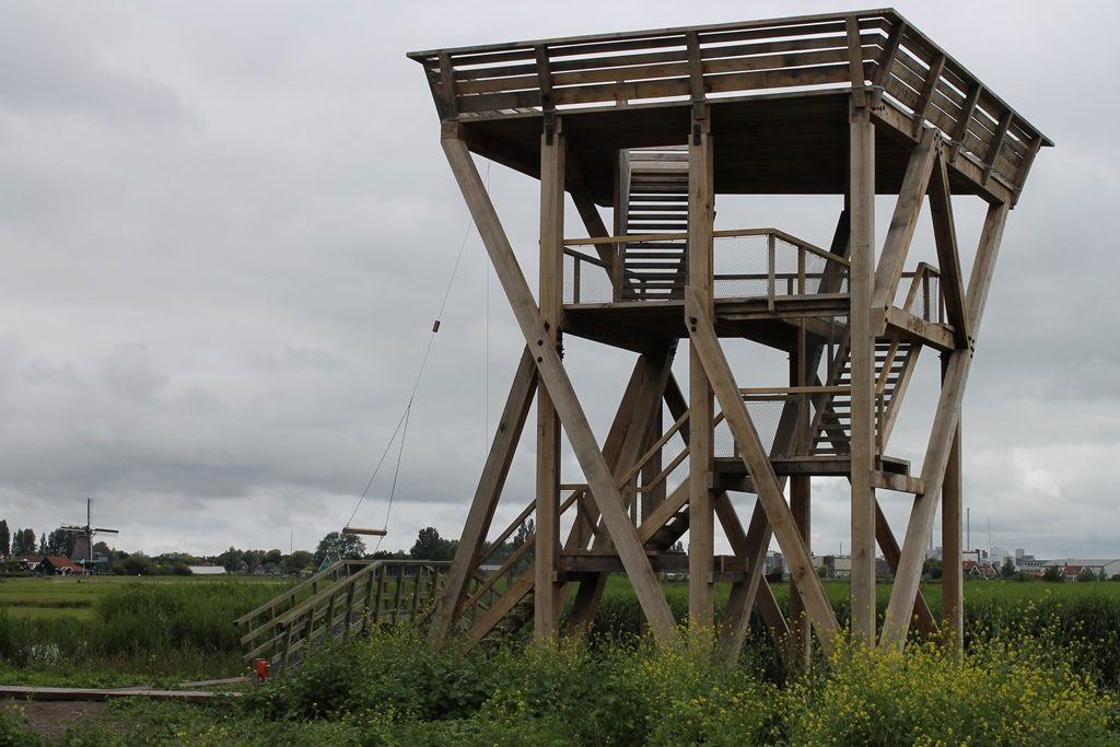 Uitkijktoren Zaanse Schans - X-TEND - rvs kabelnetten - Carl Stahl (1)