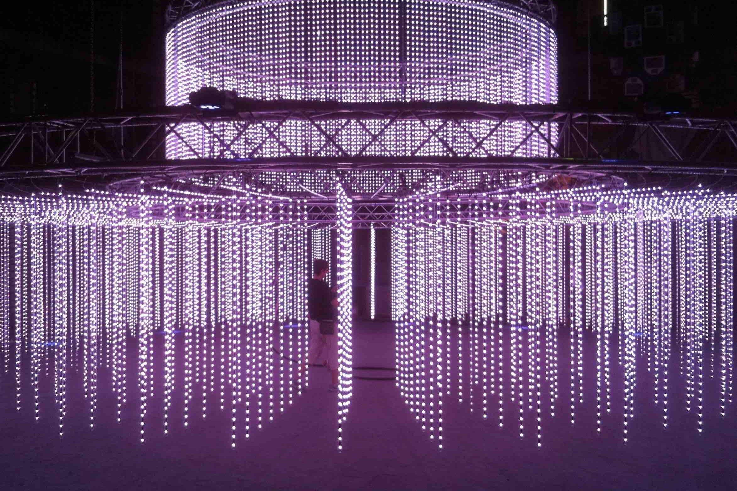 X-TEND als constructie voor led verlichting - Carl Stahl Benelux