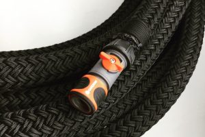 Waterhose protection with polyester braided cover - Carl Stahl