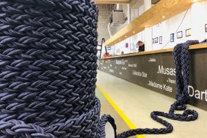 Line on a role while working on rope - Carl Stahl