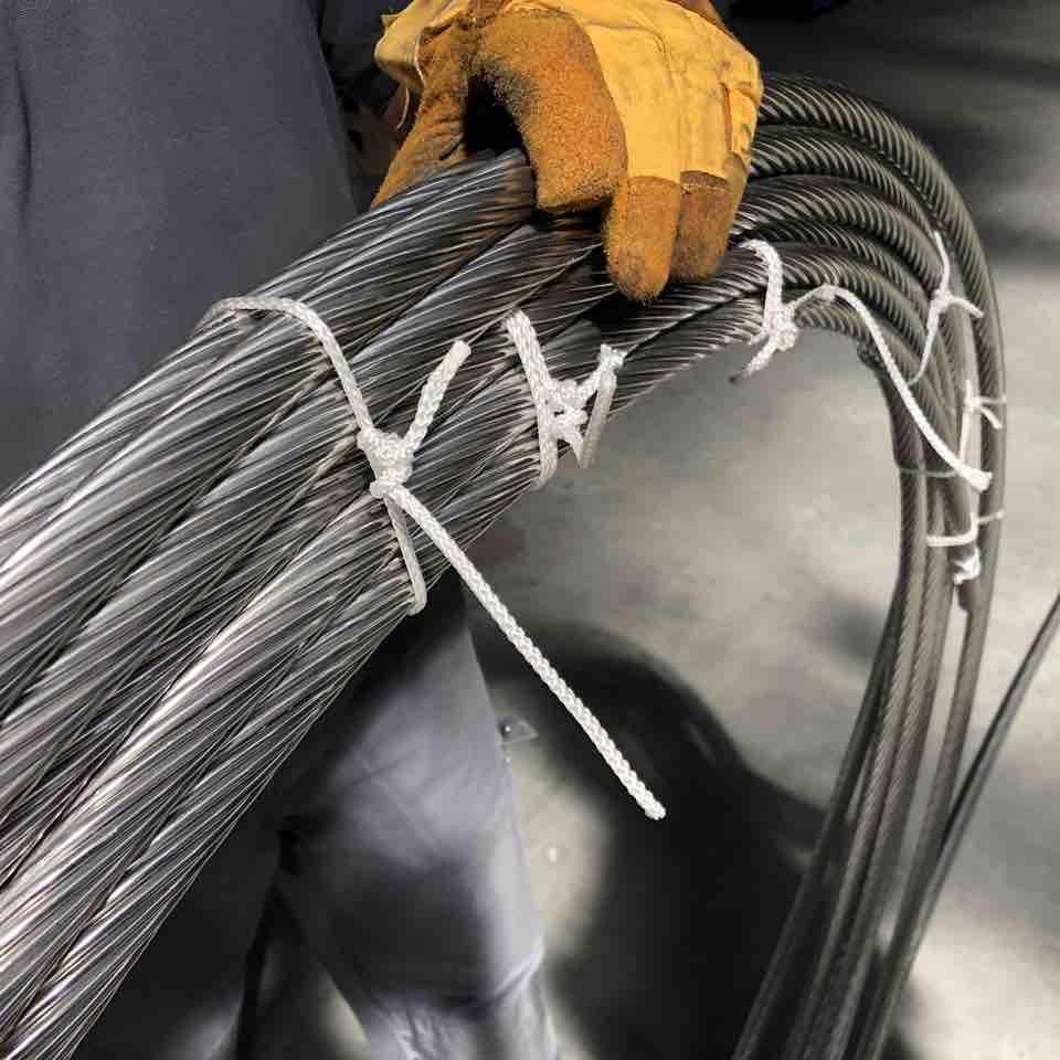 Roestvaste staalkabel voor verstaging wire system