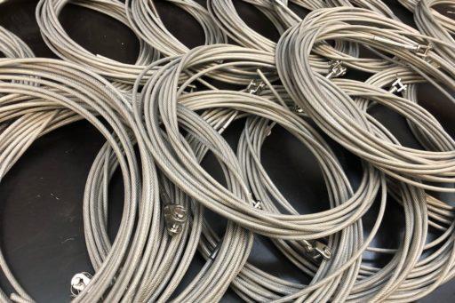 Geplastificeerde PVC staalkabels