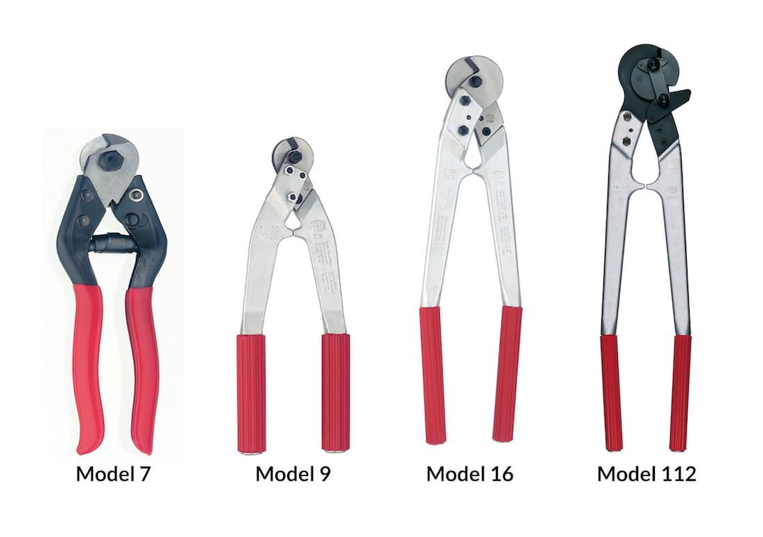 Kabelknipper model 7, 9, 16, 112
