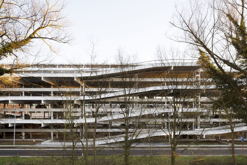 Parkeergebouw Leuven IMEC KU - Carl Stahl - 01