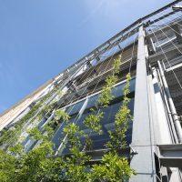Groenen gevel Powerhouse Eindhoven spankabels Carl Stahl