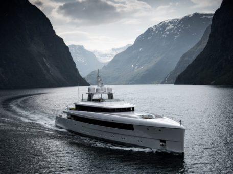 Najiba in NORDICS - Mooring Yachts - photo by Tom van Oossanen
