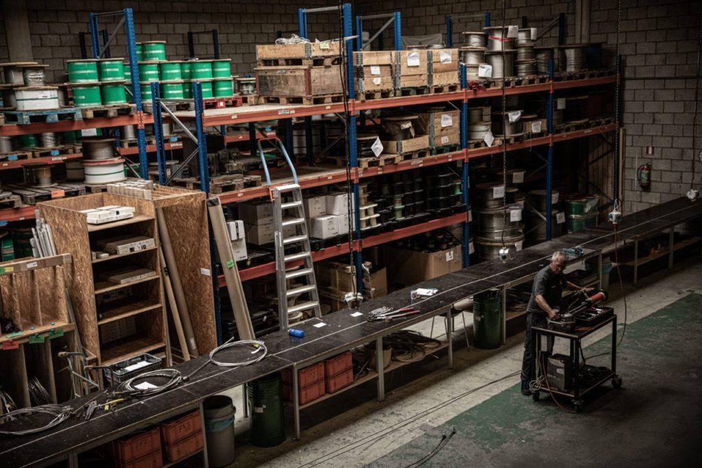 Werkplaats stagen productie - Carl Stahl