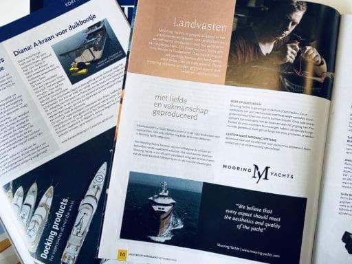 Advertenties in Jachtbouw Nederland - Mooring Yachts